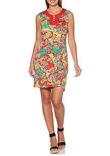Rafaella Petite Summer Paisley Dress