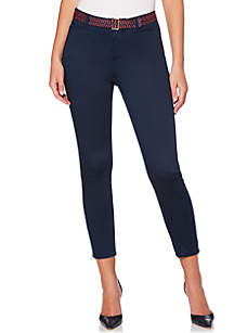 Modern Fit Zip Ankle Pant