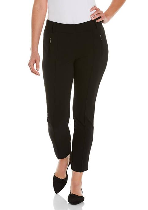 Womens Pintuck Pants
