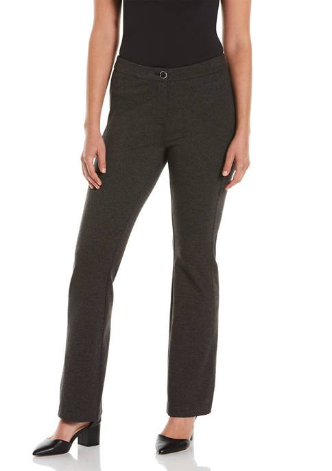 Womens Fly Front Bootcut Pants