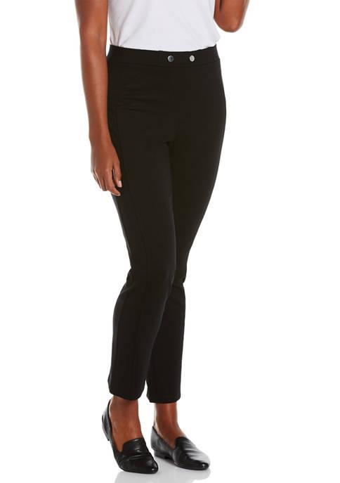 Womens Ponte Pants - Short