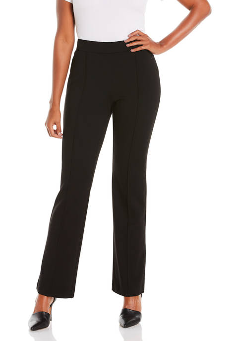 Womens Ponte Compression Bootcut Pants