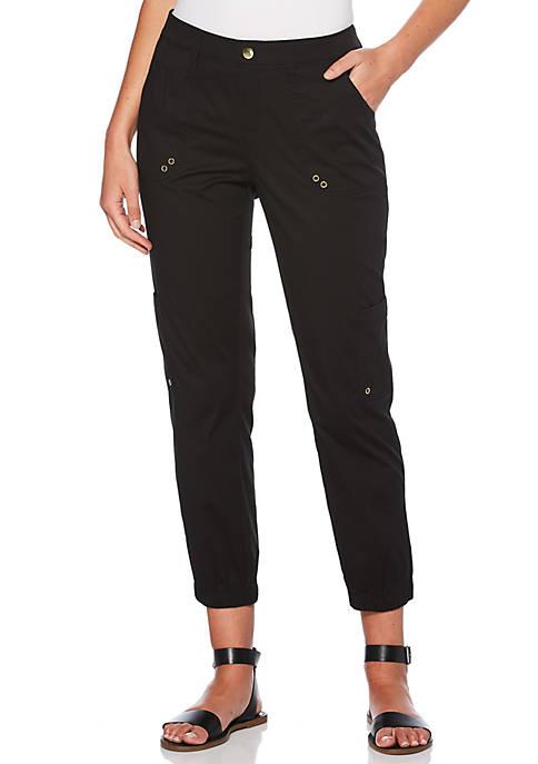 Rafaella Ankle Ripstop Cargo Pants