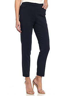 Rafaella Essential Satin Twill Ankle Pant