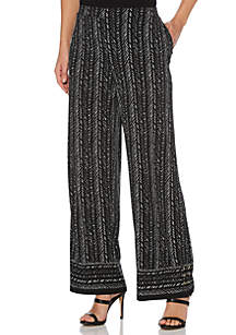 372771341 ... Rafaella Twill Texture ITY Pants