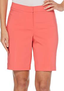 Rafaella Satin Twill Shorts