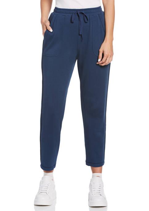 Rafaella Womens Double Face Knit Pants