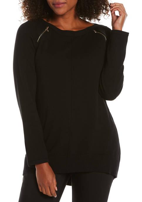 Womens Boat Neck Sweater