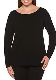 Crew Neck Pullover Sweater
