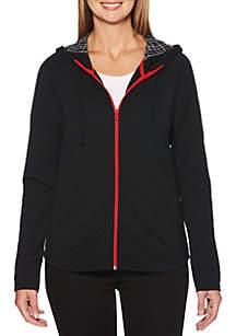 Long Sleeve Zipper Front Jacket