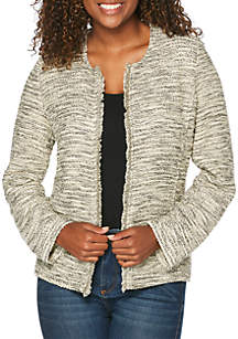Knit Tweed Jacket