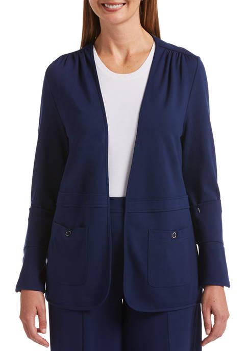 Womens Effortless Essential Long Sleeve Cardigan