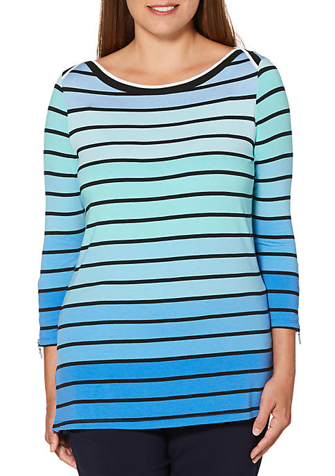 Thick Striped Tunic