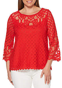 Rafaella Abby Lace Top