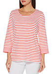 Feeder Stripe Slub Top