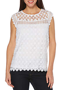 Rafaella Venise Lace Top