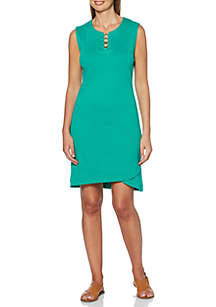 Rafaella Solid Knit Dress