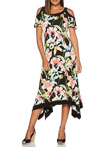 Rafaella Framed Floral Dress | belk