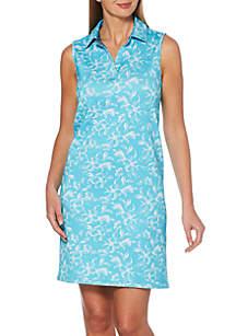 9734b9d53825 Rafaella Plus Size Solid Tee · Rafaella Reversible Diamond Lattice Floral  Polo Dress