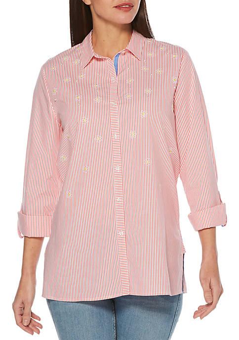 Yarn Dye Stripe Tunic