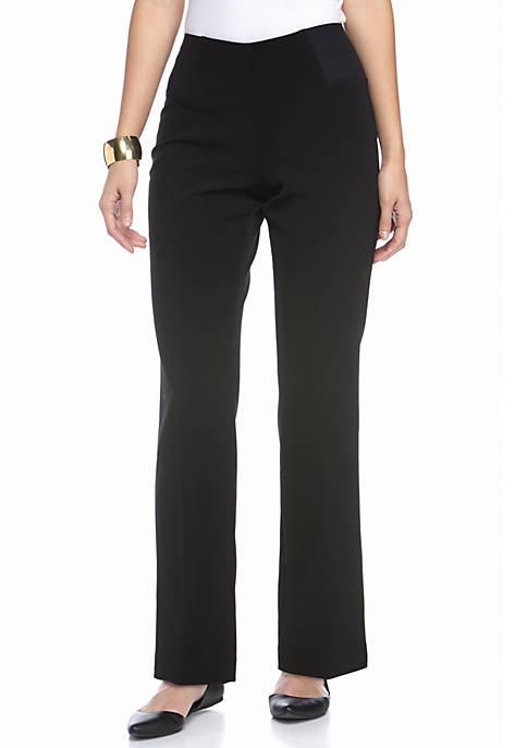 Kim Rogers® Petite Straight Leg Pants