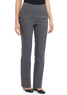 Petite Stretch Pull On Pants