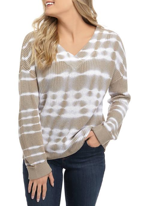 Womens Tie Dye Sweater