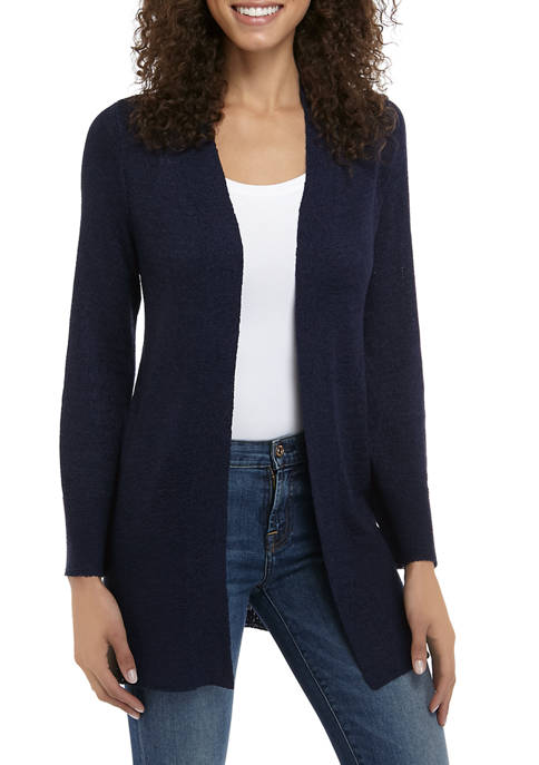 New Directions® Womens Long Sleeve Open Front Cardigan