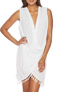 Bazaar Beauty Wrap Swim Dress