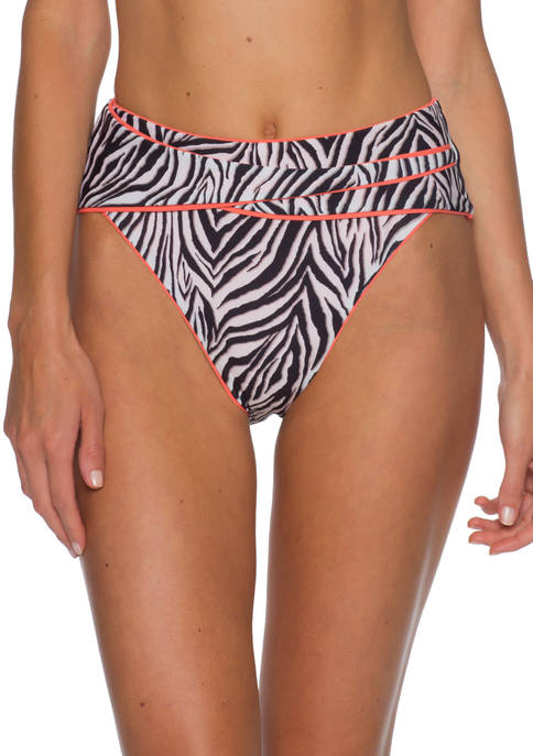 Becca Animal Kingdom Vintage High Waist Swim Bottoms
