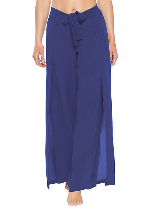 Becca Modern Muse Tie Front Swim Cover Up Pants Belk