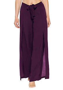 a0995b3a67 ... Becca Modern Muse Tie Front Swim Cover Up Pants