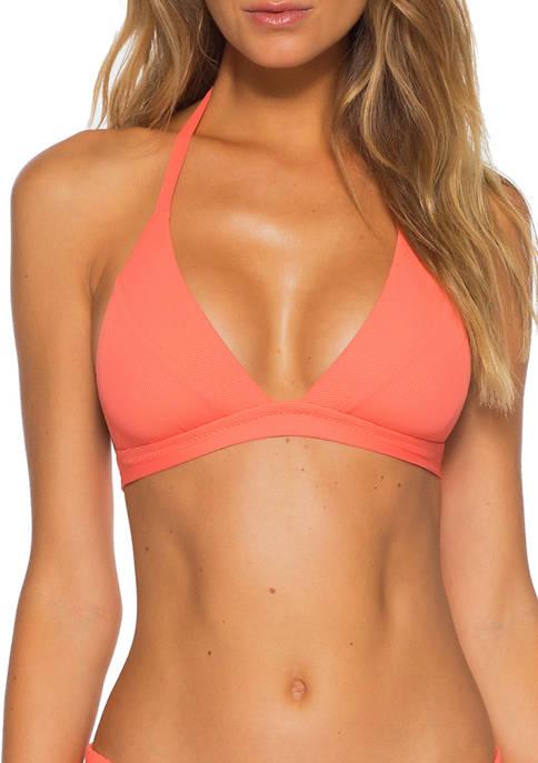 Fine Line Halter Swim Top