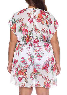 1cc3da129812c ... Becca Plus Size Emma Chiffon Cover Up