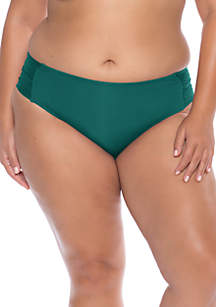 Becca Plus Size Color Code Hipster Swim Bottoms