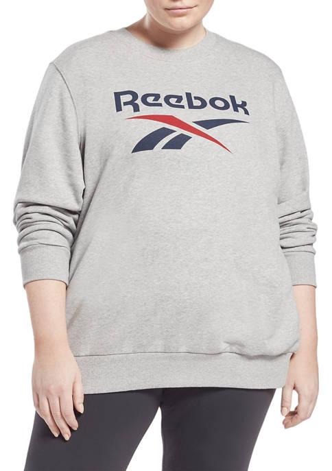 Identity Logo French Terry Crew Sweatshirt