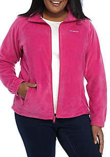 Plus Size Women's Benton Springs Fleece Full Zip Jacket