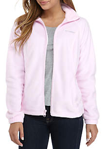 Women's Tested Tough In Pink Benton Springs Full Zip Fleece Jacket
