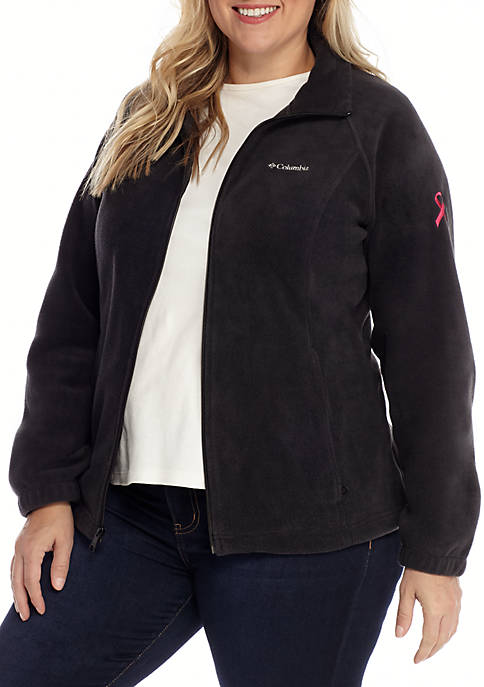 Columbia Plus Size Breast Cancer Benton Jacket