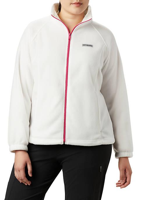 Plus Size Breast Cancer Benton Jacket