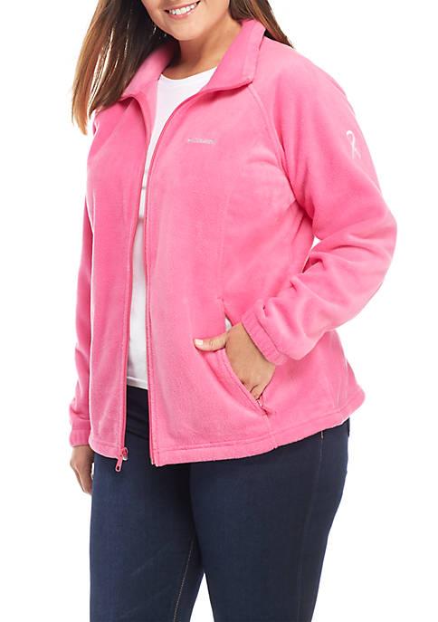 Columbia Plus Size Breast Cancer Benton Jacket