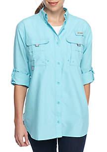 PFG Long Sleeve Button Down Bahama Shirt