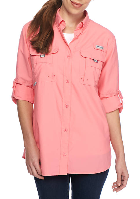 Columbia PFG Long Sleeve Button Down Bahama Shirt
