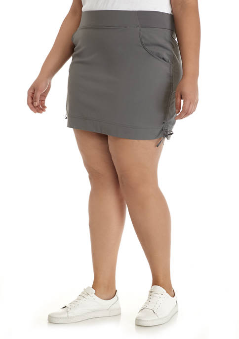 Plus Size Anytime Casual Skort