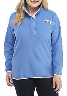 Plus Size Harborside Fleece Jacket