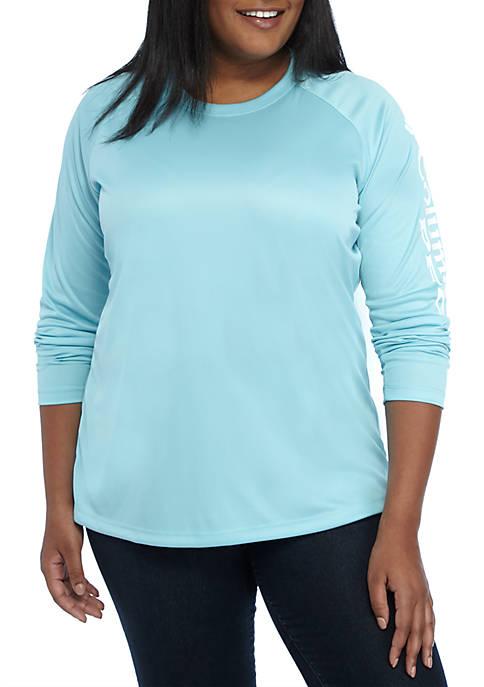 Columbia Plus Size Long Sleeve Tidal T Shirt