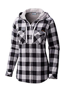Collegiate Times Two™ Hooded Long Sleeve Shirt