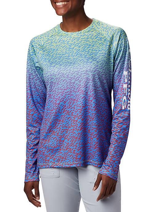 Columbia Printed Long Sleeve T Shirt