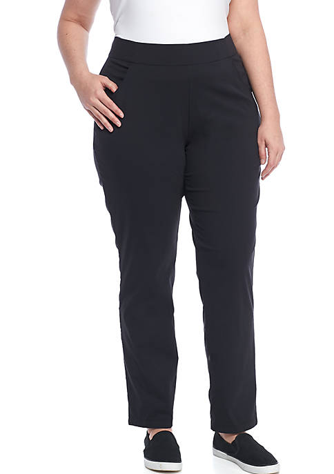 Columbia Plus Size Anytime Casual Pull On Pants