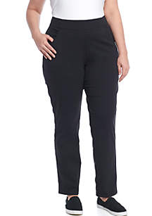 Plus Size Anytime Casual Pull-On Pants